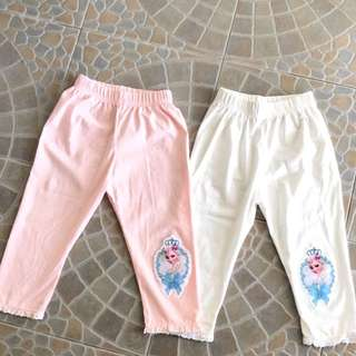 Girls Pants Elsa 2-4yo