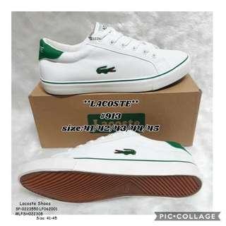Lacoste shoes size : 41-45