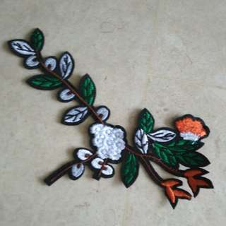 Sew on patch - Flower #3