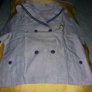 #MakinTebel baju sailorbaby