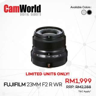 Fujifilm 23mm f2 R WR