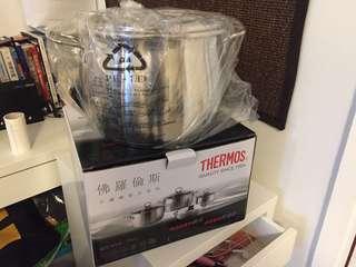 Thermos 100% 全新不鏽鋼煲