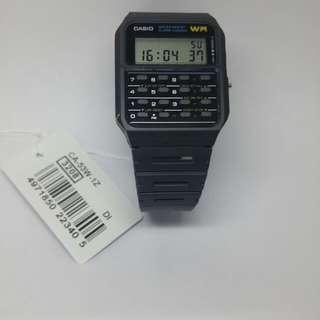 Jam tangan casio calculator