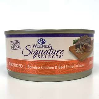 Wellness Core – Signature Selects Shredded Chicken & Beef Canned Cat Food