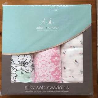 Aden + anais silky swaddles