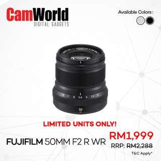 Fujifilm 50mm f2 R WR
