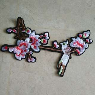 Sew on patch - Flower#4