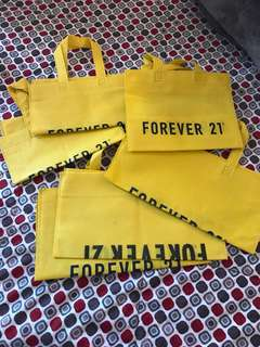 Forever 21 shopping bag