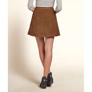 brandy melville Brown Skirt 啡色短裙/半截裙