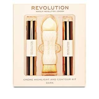 Makeup Revolution Crème Highlight and Contour Kit - Dark (PREORDER PO SPREE RESTOCKING)