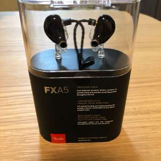 FXA5 earphones 🎧