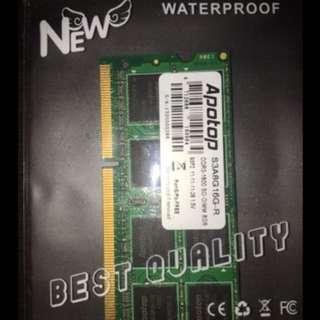 APOTOP DDR3-1600 SO-DIMM 8GB $88.00Nett