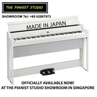 [MADE IN JAPAN] KORG Digital Piano G1 Air Singapore Sale!