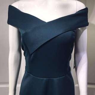Elegant Off Shoulder Long Dress
