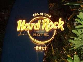 3D2N Hard Rock Bali