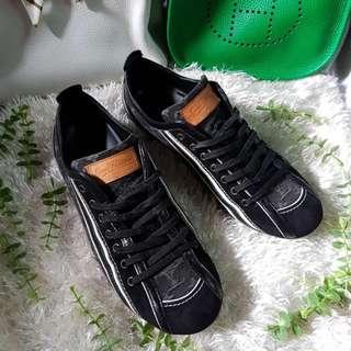 Authentic Louis Vuitton Mini Lin Ladies Sneakers Size 38 1/2
