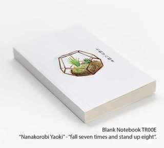 Blank Notebook TR00E