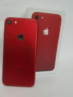iphone 7 128gb Red fullset