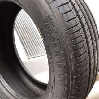 Continental conticomfortcontact CC5 tyre (205/55 R 16 91V)