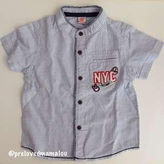 NEW! Baby Shirt / Kemeja Anak #MakinTebel