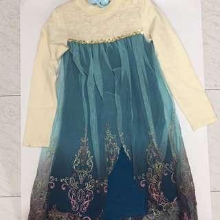 公主長裙 (size 15)