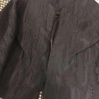 Cos 短款黑色復古外套