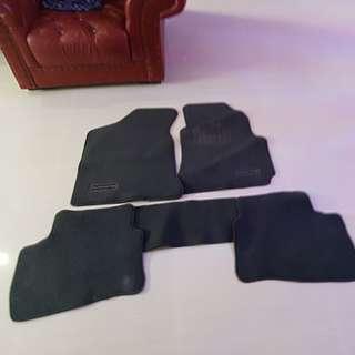Used Original Hyundai avante car mat