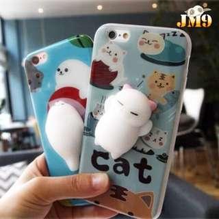 【超可愛立體貓貓手機殼】⠀🐰