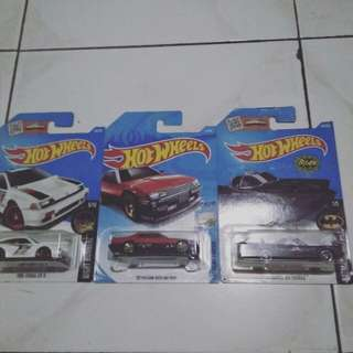 Paket 3 in 1 hotwheels