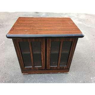 非凡二手家具 柚木實木 2.7尺電視櫃*收納櫃*置物櫃*櫥櫃*矮櫃*書櫃*行李櫃