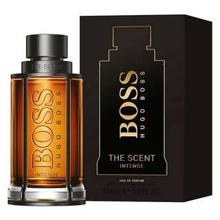 Hugo Boss The Scent Intense EDP for Men (50ml/100ml/Tester) Eau de Parfum