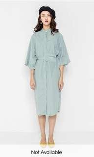 Modparade Pinstripe Kimono Dress