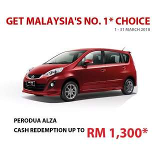 PERODUA MARCH REBATE