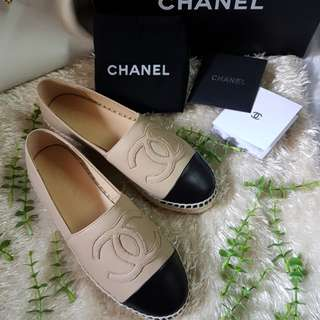 Authentic Brand New Chanel Two Toned Espadrilles Size 36