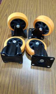 "PU Roller wheel 5"" (HW)"