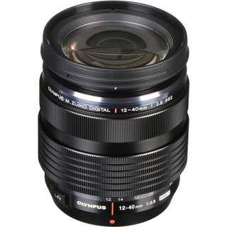 BNIB Olympus 12-40mm f2.8 lens