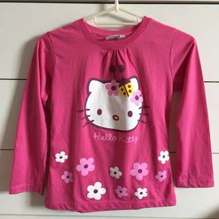 Pre ❤️ Hello Kitty kids long sleeves
