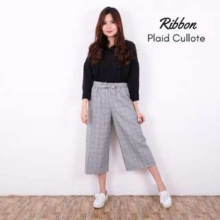 Plaid kulot / cullote