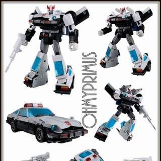 Takara Transformers Masterpiece MP-17+ MP17+ Prowl Anime Accurate ( TakaraTomy TT Mall Exclusive )
