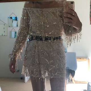 Sisters the label replica sequin dress