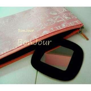 Hello Kitty Zip Pouch Bags Sellzabo HK Pink Coloyr