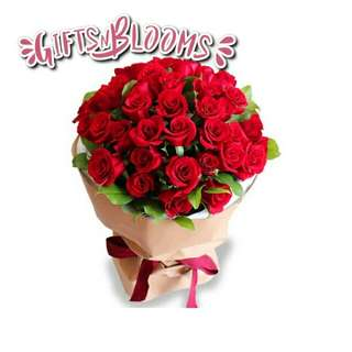 Beautiful Fresh Flower Surprise for Special One Bouquet V24 - KFQGV