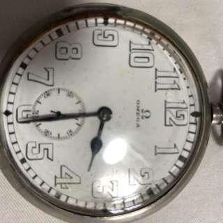 老银怀表pocket watch