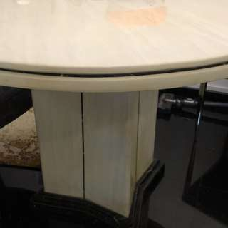 Round Marble Dining table W176Cm x H76Cm
