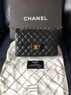 Chanel small classic羊皮