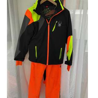 Spyder Boys Ski Pants and Jacket Excellent Cond.