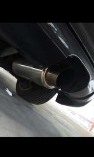 Selling fd1 / fd2 super rare honda civic tanabe exhaust