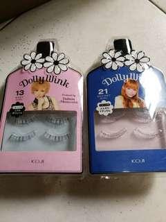 Dolly Wink fake eyelashes