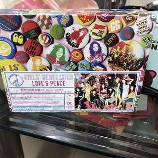 少女時代 love & peace 豪華初回限定盤 全新未拆