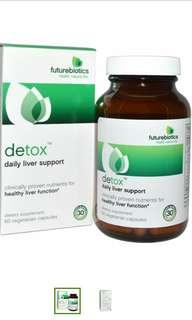FutureBiotics, Detox, Daily liver support